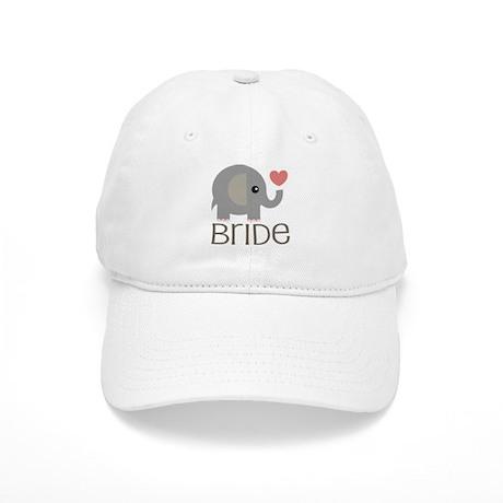 Bride Wedding Elephant Cap