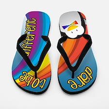Penguin Pride Flip Flops