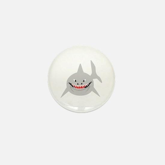 Shark Mini Button