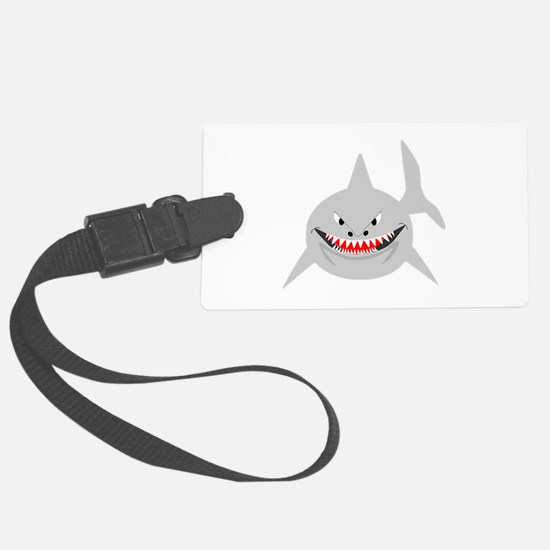 Shark Large Luggage Tag