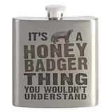 Honey badger Flask Bottles