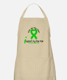 With All My Heart Lymphoma Apron
