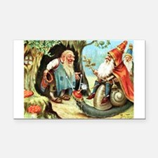 King of the Gnomes Rectangle Car Magnet