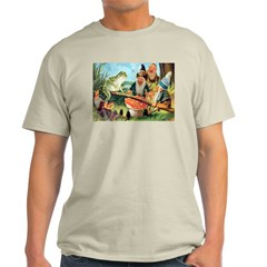 Gnome and Frog on a Seesaw T-Shirt