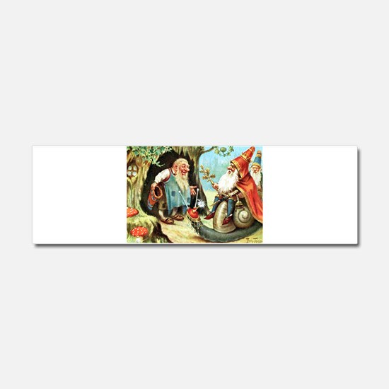 King of the Gnomes Car Magnet 10 x 3