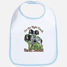 Bluetick Coonhound Gifts Bib