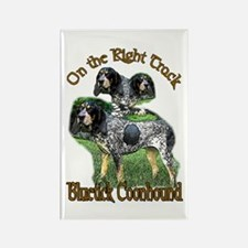 Bluetick Coonhound Gifts Rectangle Magnet (100 pac