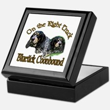Bluetick Coonhound Gifts Keepsake Box