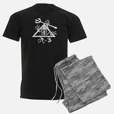 SEAL Team 3 Patch B-W Pajamas