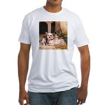 MOTHER & PUPPIES Fitted T-Shirt