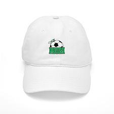 Soccer Mom (Green) Baseball Cap
