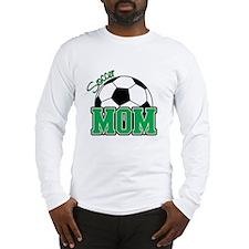 Soccer Mom (Green) Long Sleeve T-Shirt