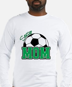 Soccer Mom (Green) Long Sleeve T-Shirt