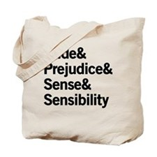 Austen Titles Tote Bag