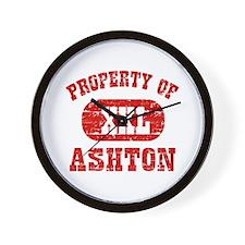 Property Of Ashton Wall Clock
