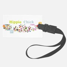 Hippie Chick at Heart Luggage Tag