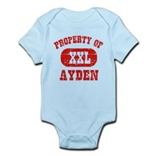 Property Of Ayden Infant Bodysuit