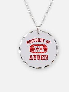 Property Of Ayden Necklace