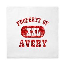 Property Of Avery Queen Duvet