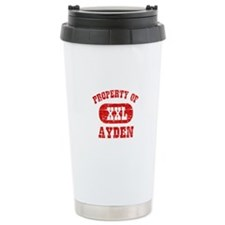 Property Of Ayden Travel Mug
