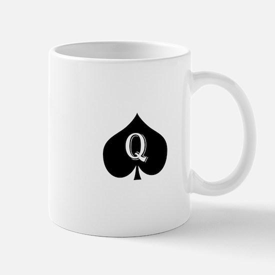 Queen of spades Mug