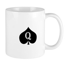 Queen of spades Mug