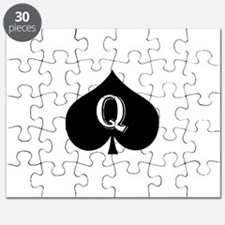 Queen of spades Puzzle