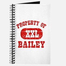 Property Of Bailey Journal