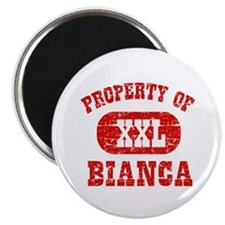 Property Of Bianca Magnet