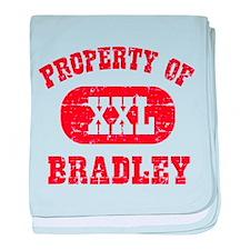 Property Of Bradley baby blanket