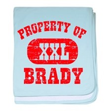 Property Of Brady baby blanket