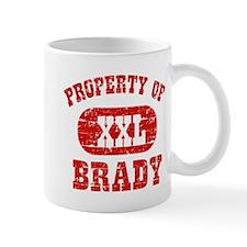Property Of Brady Small Mug