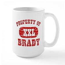 Property Of Brady Mug