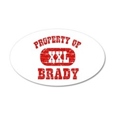 Property Of Brady Wall Decal