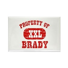 Property Of Brady Rectangle Magnet