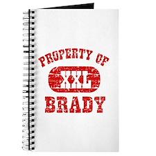 Property Of Brady Journal
