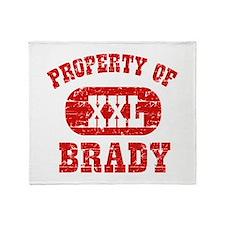 Property Of Brady Throw Blanket