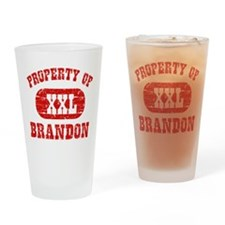 Property Of Brandon Drinking Glass