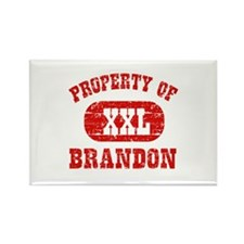 Property Of Brandon Rectangle Magnet