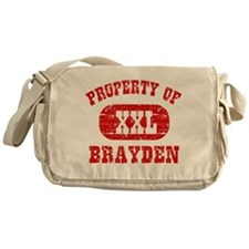 Property Of Brayden Messenger Bag