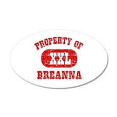 Property Of Breanna Wall Decal