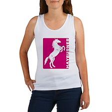 Rearing Horse Hayburner (Pink) Women's Tank Top