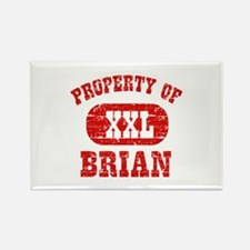 Property Of Brian Rectangle Magnet