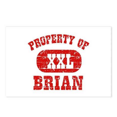 Property Of Brian Postcards (Package of 8)