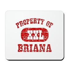 Property Of Briana Mousepad