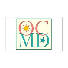 Ocean City, MD Rectangle Car Magnet