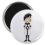 Cool Mod Girl Magnet