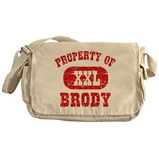 Property Of Brody Messenger Bag