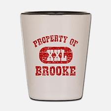 Property Of Brooke Shot Glass