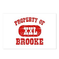 Property Of Brooke Postcards (Package of 8)